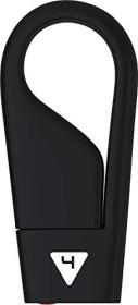 Emtec D200 Hang 4GB, schwarz, USB-A 2.0 (ECMMD4GD202)