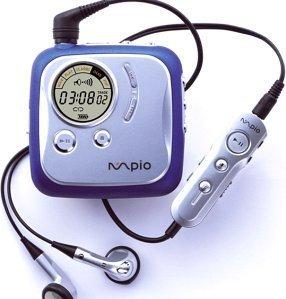 mpio DME Odtwarzacze MP3 64MB, USB1.1