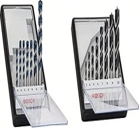 Bosch Professional Robust Line Spiralbohrer-Set, 8-tlg. (2607010533)