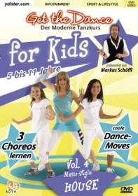 Tanzen: Get The Dance For Kids (verschiedene Filme) (DVD)