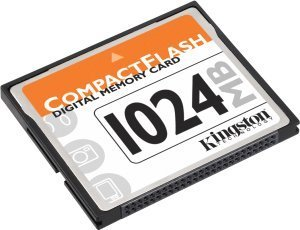 Kingston CompactFlash Card (CF) 1GB (CF/1GB)