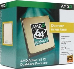 AMD Athlon 64 X2 3600+ 65nm boxed, 2x 1.90GHz, 2x 512kB cache (ADO3600DDBOX)