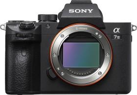 Sony Alpha 7 III schwarz mit Objektiv Fremdhersteller