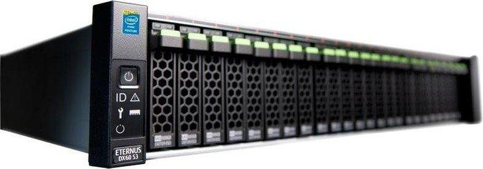 "Fujitsu Eternus DX60 S3 2.5"", 1x 10GBase, 2x Gb LAN, 2HE (VFY:DX630XF530IN/1)"
