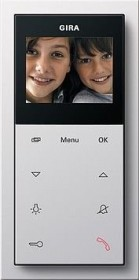 Gira home station Video AP Plus pure white, interior station (1239112)