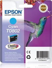 Epson Tinte T0802 cyan (C13T08024010)