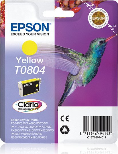 Epson T0804 ink yellow (C13T08044010)
