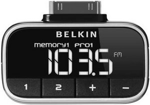 Belkin TuneFM3 FM transmitter for iPod (F8Z179eaBLK)