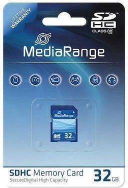 MediaRange R10 SDHC 32GB, Class 10 (MR964)