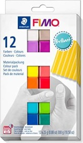 Staedtler Fimo Soft Materialpackung 300g brilliant (8023 C12-2)