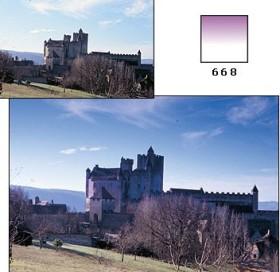 Cokin Filter Farbverlauf Fluo malve 1 A-Series (WA1T668)