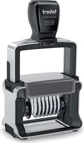 trodat professional 4.0 5558 number stamp 8-digit, 5.0mm