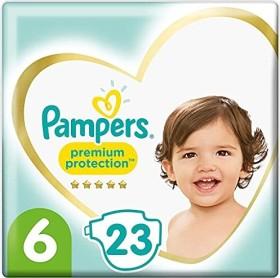 Pampers Premium Protection Gr.6 Einwegwindel, 13-18kg, 23 Stück