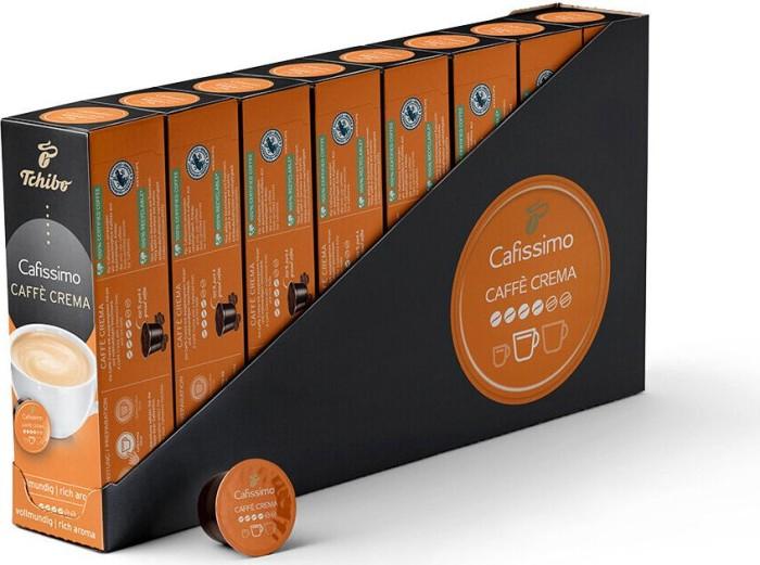 76f5693a90 Tchibo Cafissimo Caffè Crema vollmundig Kaffeekapseln, 80er-Pack (8x 10  Stück)