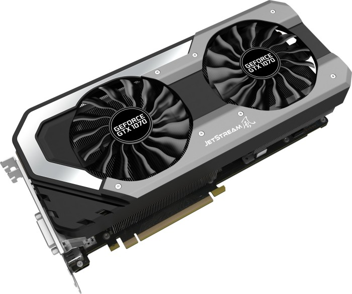 Palit GeForce GTX 1070 JetStream, 8GB GDDR5, DVI, HDMI, 3x DP