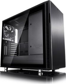 Fractal Design Define R6 Blackout TG, Glasfenster, schallgedämmt (FD-CA-DEF-R6-BKO-TG)