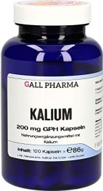 Kalium 200mg GPH Kapseln, 120 Stück