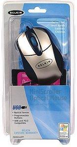 Belkin Miniscroller Optical Mouse, USB (F8E882EAOPT)