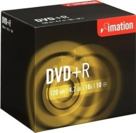Imation DVD+R 4.7GB 16x, 10-pack Jewelcase (21746)