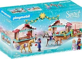 playmobil Spirit - Riding Free - Weihnachten in Miradero (70395)