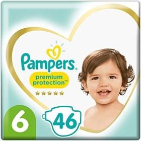 Pampers Premium Protection Gr.6 Einwegwindel, 13-18kg, 46 Stück