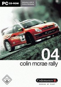 Colin McRae Rally 04 (German) (PC)