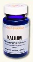 Kalium 200mg GPH Kapseln, 60 Stück