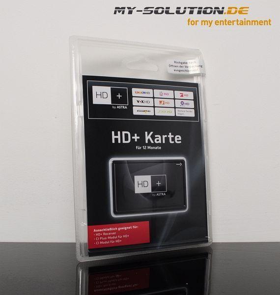 hd+ karte aufladen kosten Astra HD+ Karte für 12 Monate ab € 67,99 (2019) | Preisvergleich