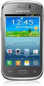 Samsung Galaxy Young S6310N silber