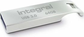Integral Metal Arc 64GB, USB-A 3.0 (INFD64GBARC3.0)