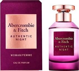 Abercrombie & Fitch Authentic Night Woman Eau de Parfum, 50ml