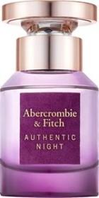 Abercrombie & Fitch Authentic Night Woman Eau de Parfum, 30ml