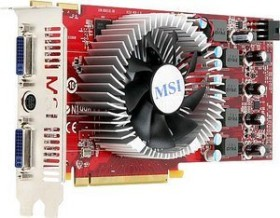 MSI R4830-T2D512-OC, Radeon HD 4830, 512MB DDR3, 2x DVI, S-Video (V153-001R)