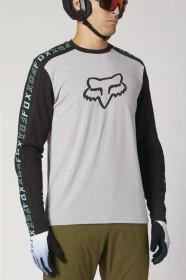 Fox Racing Ranger Drirelease Trikot langarm steel grey (Herren) (27295-172)