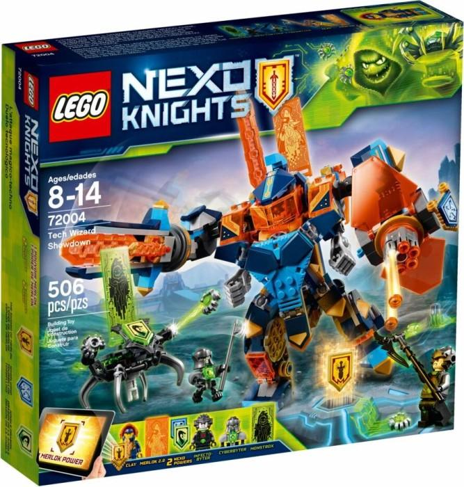 Lego Nexo Knights Clays Tech Mech 72004