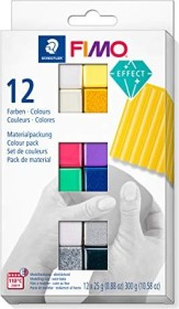 Staedtler Fimo Soft Materialpackung 300g effect (8013 C12-1)