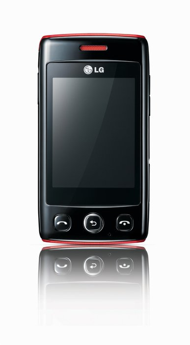 LG Electronics T300 black red