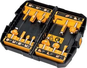 DeWalt DT90016 milling cutter set, 12-piece.