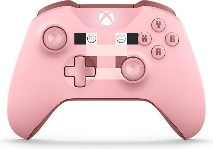 Microsoft Xbox One Wireless Controller Minecraft Pig Ab De - Minecraft controller spielen pc