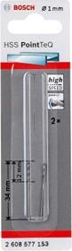 Bosch Professional HSS PointTeQ drills 1x12x34mm, 2-pack (2608577153)