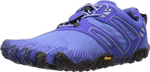 Vibram FiveFingers Damen V-Trail Traillaufschuhe, Violett (Purple/Black), 40 EU