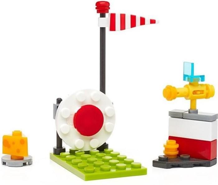 LEGO 1 Flexkabel mit Halterungen bb0008c05L