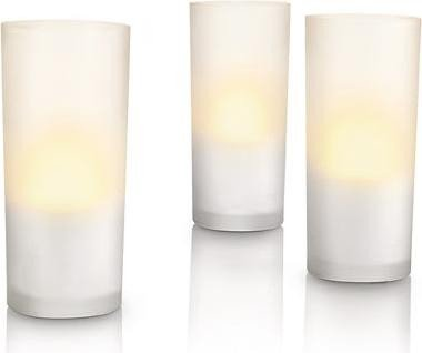 Philips Accents LED CandleLights white 3er set (69108/60)
