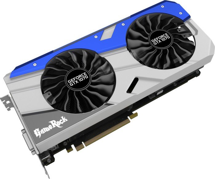 Palit GeForce GTX 1070 Gamerock, 8GB GDDR5, DVI, HDMI, 3x DisplayPort (NE51070T15P2G)