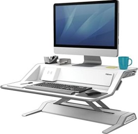 Fellowes Lotus DX white, sit-stand desk (8081101)