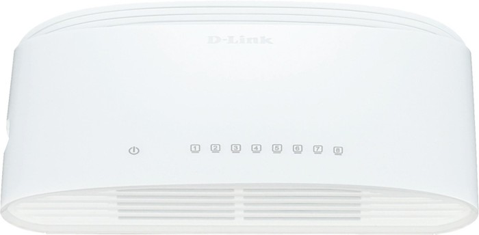 D-Link DGS-1008D Green Ethernet,  8-Port (DGS-1008D/E)