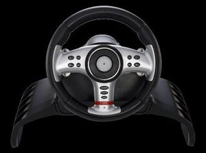 Saitek 4-in-1 vibration Wheel, USB (PC/PS2/Xbox)