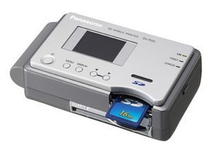 Panasonic D-Snap SV-P20 silver