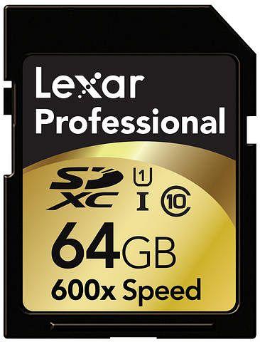 Lexar Professional 600x SDXC 64GB, UHS-I/Class 10 (LSD64GCTBEU600/LSD64GCRBEU600)