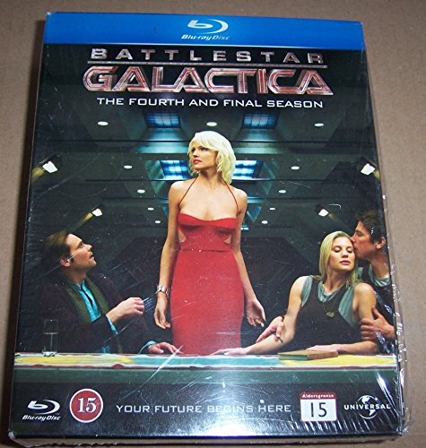 Battlestar Galactica Season 4.0 (Blu-ray) (UK) -- via Amazon Partnerprogramm